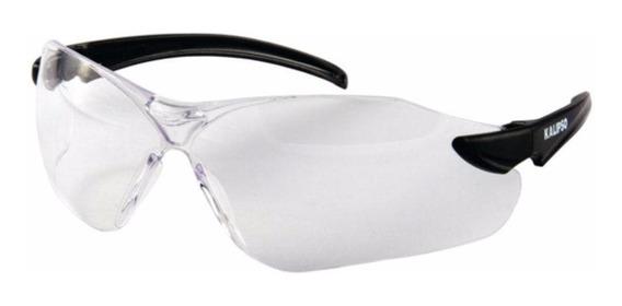 Oculos Proteçao Kalipso Guepardo Transparente Uv Anti Risco
