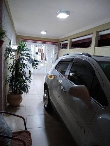 Sobrado Com 3 Dormitórios À Venda, 150 M² Por R$ 530.000,00 - Jardim Santa Cecília - Guarulhos/sp - So0631