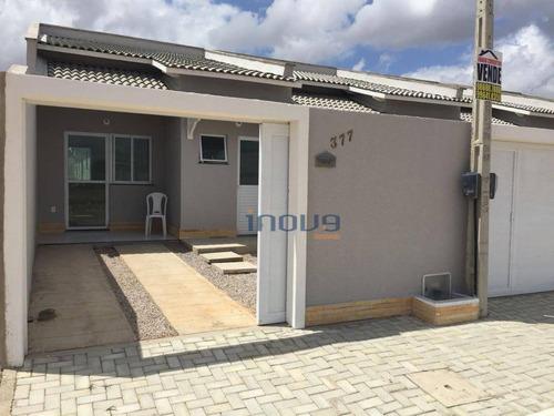 Casa Com 3 Dormitórios À Venda, 77 M² Por R$ 170.000,00 - Novo Oriente - Maracanaú/ce - Ca0378