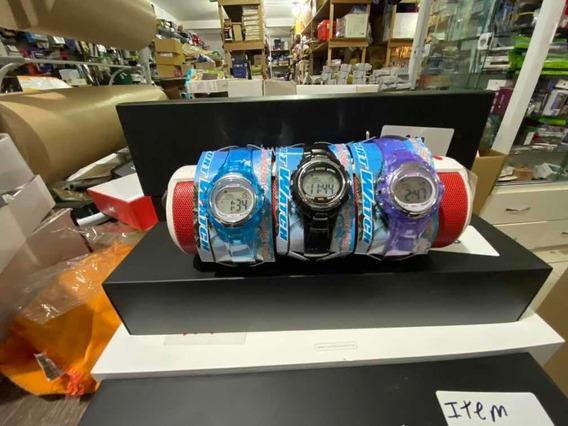 10 Relógio Infantil Digital Pulseira Borracha Igual Aqua