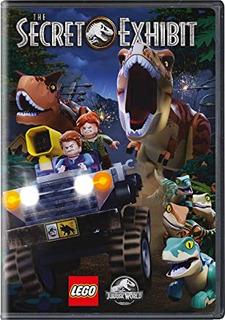 Dvd Lego Jurassic World: The Secret Exhibit Envío Gratis