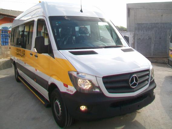 Sprinter 415 Extra Longa 2018/2019 28 Lugares Onibus C/ Ar