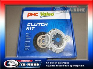Kit Embrague Kia Sportage 2.0 / Hyundai Tucson Valeo