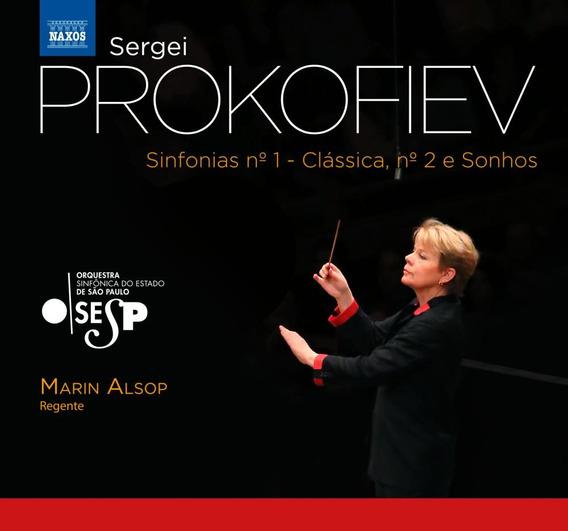 Prokofiev - Sinfonias N°1 - Clássica, N°2 E Sonhos