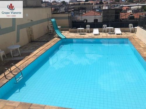 Apartamento A Venda No Bairro Parque Peruche Em São Paulo - - P0222-1