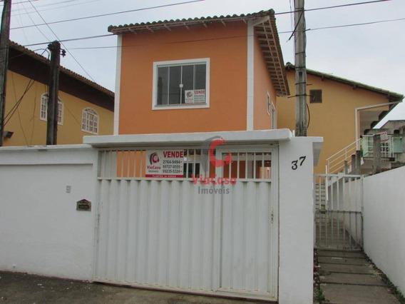 Casa Duplex Independente Com 2 Quartos, Rua Com Asfalto, Bairro Âncora - Ca1732
