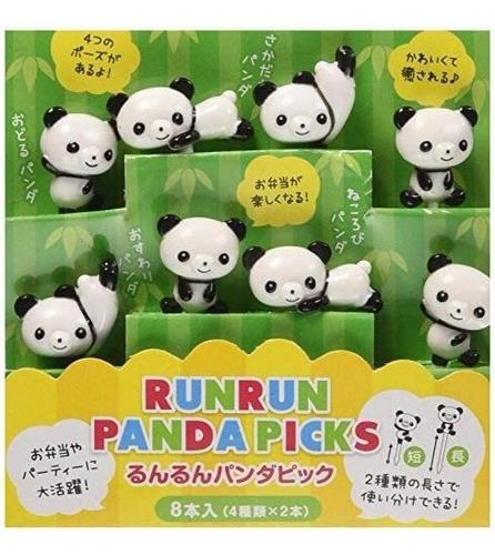 Imagen 1 de 5 de Torune Obento Run Run Panda Selecciones, P2813, 8 Picks En