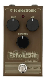 Pedal Echobrain Analogic Delay - Tc Electronic + Nf+garantia