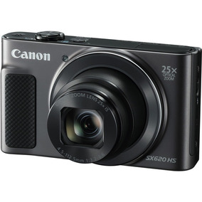 Câmera Profissional Digital Canon Powershot Sx620 Hs Preto