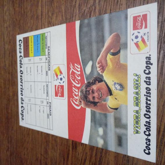 Tabela Copa Do Mundo 1982. Coca Cola Oficial