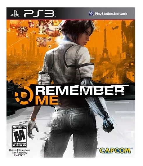Remember Me Ps3 - Jogo Digital