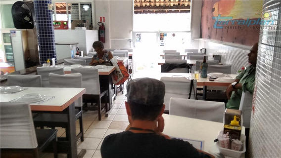 Restaurante E Lanchonete No Centro De Itanhaém Ótimo Pornto Comercial - Lo0011