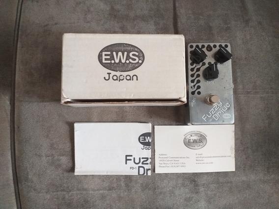 Pedal De Guitarra Ews Fuzzy Drive