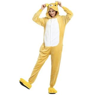 Pijama Kigurumi Macacão Com Touca Do Unicórnio Estrelinha