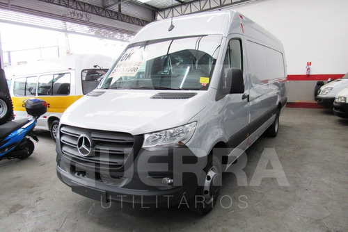 Mercedes-benz Sprinter 516 Big 21/22 Prata 15,5m³ Higt-tech