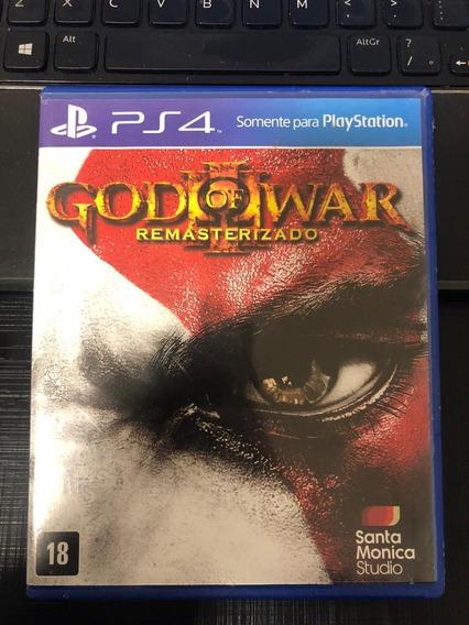 Jogo God Of War 3 Remasterizado Ps4 Mídia Física Original