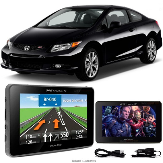 Navegador Gps Automotivo Civic Tela 4.3 Touch Voz Oferta