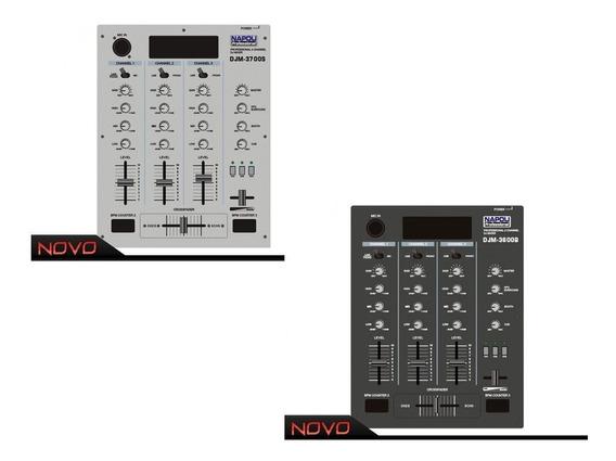 Napoli Mixer Super Dj Djm-3700b Prata Dj Nf