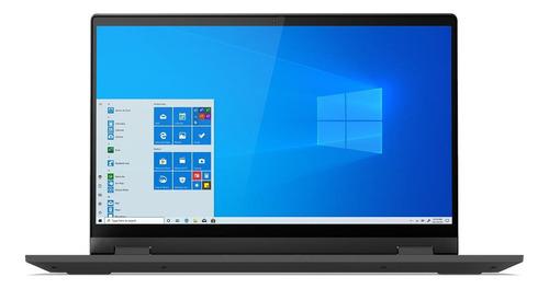 "Notebook Lenovo IdeaPad 14ARE05  graphite gray táctil 14"", AMD Ryzen 3 4300U  4GB de RAM 128GB SSD, AMD Radeon Graphics 1920x1080px Windows 10 Home"