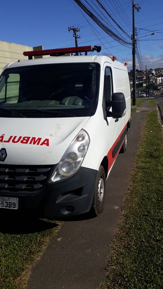 Ambulância Master Uti 2014 Com Ar