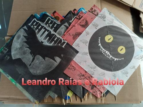 Kit Pipeiro Peixinho/raia 30x30 Pct C/ 15 Un + Rabiola Linha