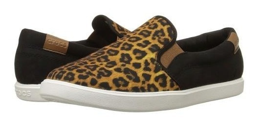 Crocs Citilane Slip-on Sneaker Leopard/black