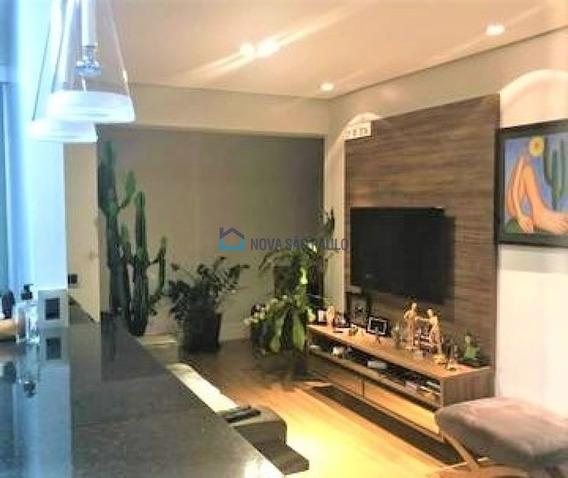 Apartamento No Campo Belo,cinematográfico, 1 Dormitório, Andar Alto, Sacada, Depósito - Bi26611