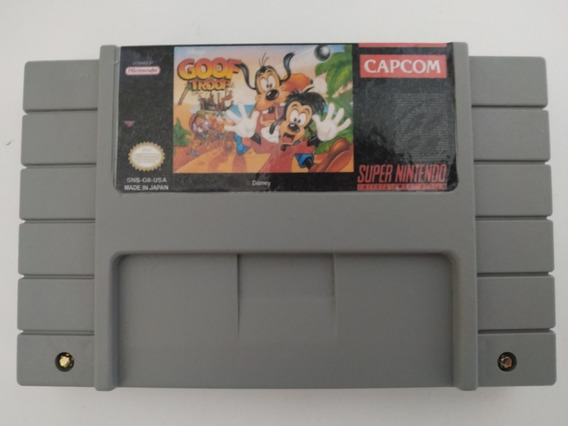 Goof Troop Português Super Nintendo Snes