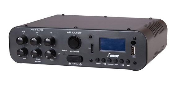Amplificador Ll Nca Ab100bt 100w Usb/fm/sd/mic/bluetooth