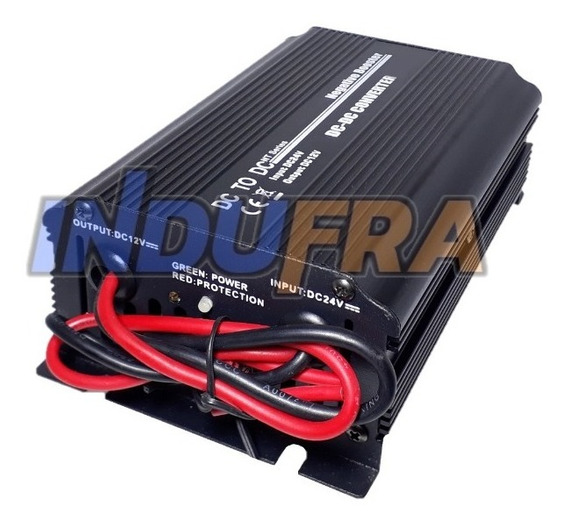 Conversor Reductor Transformador Convertidor 24v A 12v 10amp