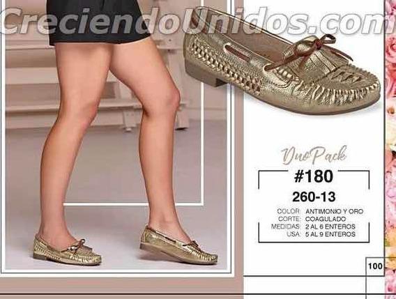 Zapatos Dama Cklass Oro 260-13