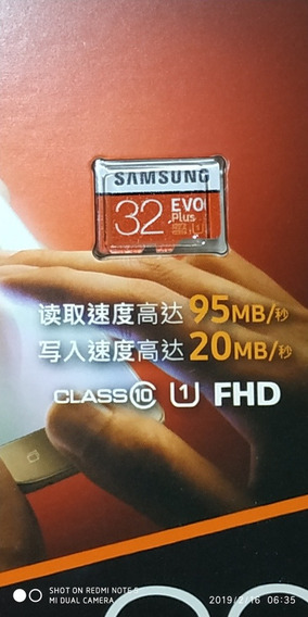 Micro Sd Card 32gb Samsung 95mb