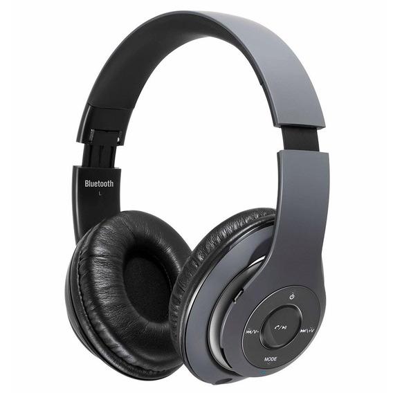 Fone De Ouvido Mondial Hp-03,microfonewireless Sound,grafite