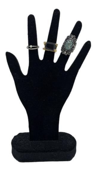 Expositor Mão Anéis/bracelete/pulseira Veludo