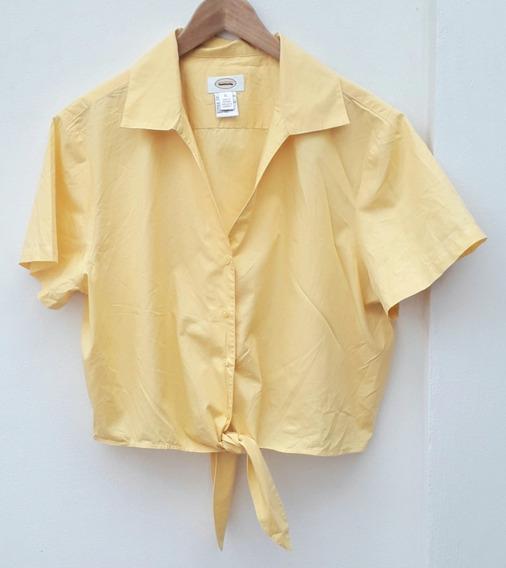 Camisa Importada Talbots Con Lazo