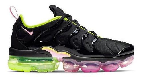 Zapatillas Vapormax Plus Mujer Negro Multicolor