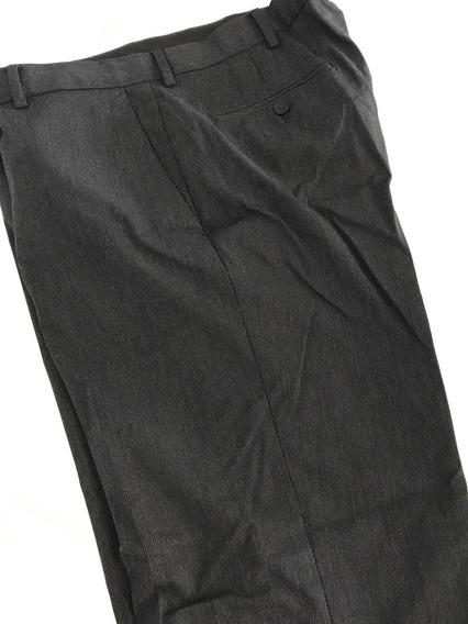 Pantalon De Vestir Kenneth Cole Para Hombre Gris Con Rayitas