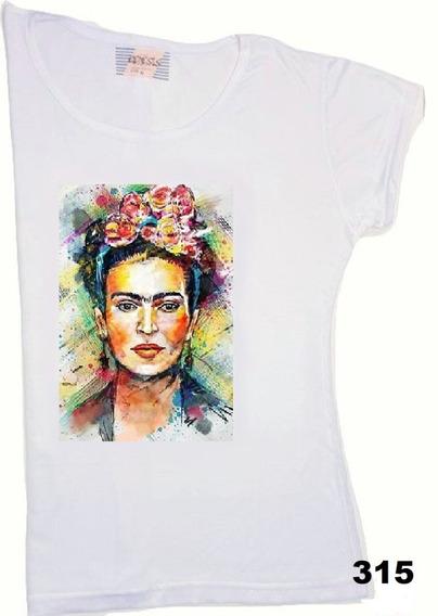Remeras Mujer Frida Kahlo Y Sus Pinturas Pack X 2 Super!!1