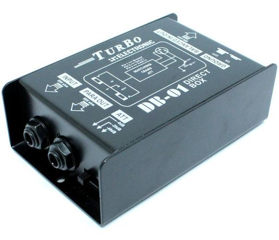 Direct Box Passivo Turbo Eletronic Db-01 Envio Imediato C/nf