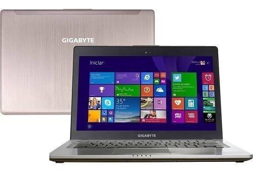 Ultrabook Gamer Gigabyte U24 Core I5 8gb Ram 750gb Hd Win8