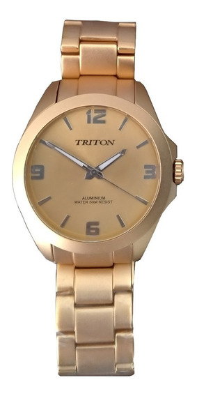 Relógio Triton - Mtx145 - Dourado - 12x Sem Juros