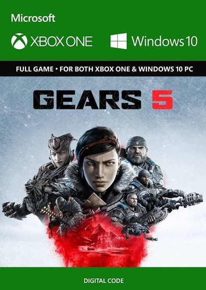 Gears Of War 5   Key 25 Dígitos   Xbox One Pc Play Anywhere