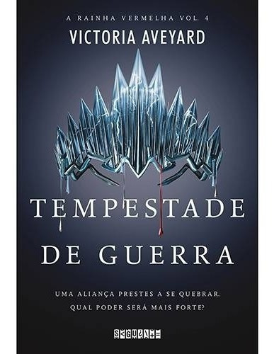 Livro Tempestade De Guerra - A Rainha Vermelha Volume 4