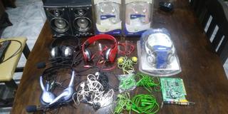 Lote Audio (parlantes Y Auriculares)