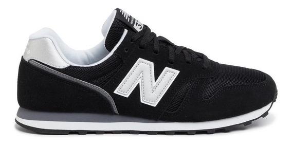 New Balance Zapatillas Lifestyle Hombre Ml373 Negro-gris Fkr