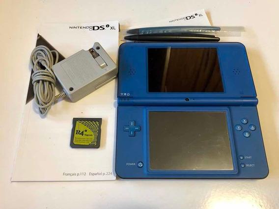 Nintendo Ds Xl Desbloqueado Com R4