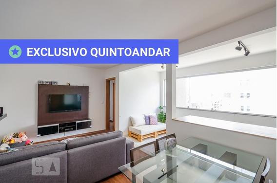 Apartamento No 4º Andar Com 3 Dormitórios E 2 Garagens - Id: 892986219 - 286219