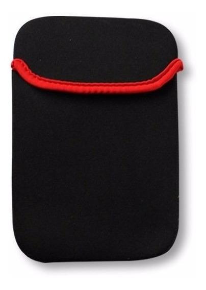 Capa Tablet Kolke 7 Pol. Preto/vermelho