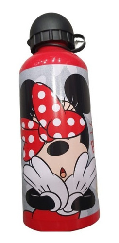 Imagen 1 de 1 de Botella Minnie Mouse De Aluminio 700ml Para Niñas