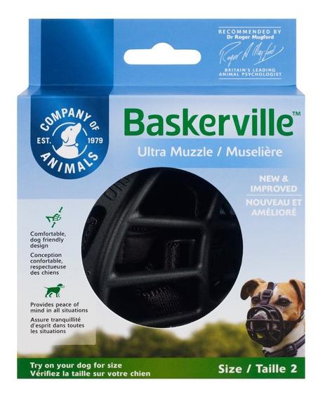 Focinheira Cachorro Cão Baskerville Ultra Muzzle Pequeno N 2